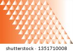 abstract triangle pattern... | Shutterstock .eps vector #1351710008