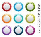 web buttons  raster version of... | Shutterstock . vector #135175388