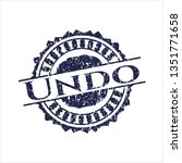 blue undo rubber grunge texture ... | Shutterstock .eps vector #1351771658