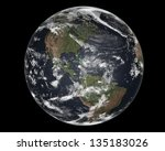 earth   elements of this image... | Shutterstock . vector #135183026
