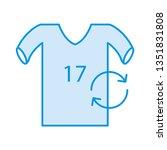 replace   player   shirt   | Shutterstock .eps vector #1351831808