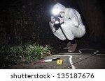 forensics researcher...   Shutterstock . vector #135187676