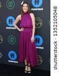 Small photo of LOS ANGELES - MAR 27: Meghann Fahy at the 2nd Annual Freeform Summit at the Goya Studios on March 27, 2019 in Los Angeles, CA