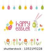 easter day card | Shutterstock .eps vector #1352195228