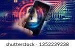 protecting information in...   Shutterstock . vector #1352239238