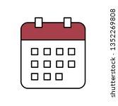 calendar icon. vector...