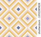 abstract geometry in retro... | Shutterstock .eps vector #1352285828