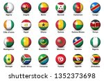 soccer or football ball nation... | Shutterstock .eps vector #1352373698