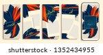 trendy editable stories... | Shutterstock .eps vector #1352434955