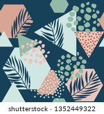 abstract drawing in... | Shutterstock .eps vector #1352449322