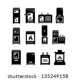 stolve icons  set of 12 quality ... | Shutterstock .eps vector #135249158