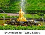 Fountains In Petergof Park ...