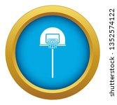 street basketball hoop icon... | Shutterstock . vector #1352574122