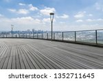 panoramic skyline and modern... | Shutterstock . vector #1352711645