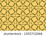 decorative seamless pattern.... | Shutterstock .eps vector #1352712068