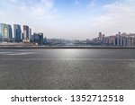 panoramic skyline and modern...   Shutterstock . vector #1352712518