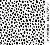 cheetah animal pattern texture... | Shutterstock .eps vector #1352773448