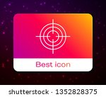 trendy space background with... | Shutterstock .eps vector #1352828375