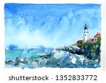Watercolor Painting Set Of...