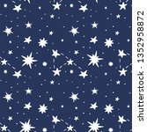 stars and constellation... | Shutterstock .eps vector #1352958872