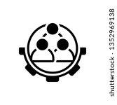 vector icon for  workforce | Shutterstock .eps vector #1352969138