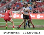 singapore april 28 fiji 7s team ...   Shutterstock . vector #1352999015