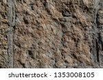 background of rock. stone...   Shutterstock . vector #1353008105