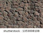 background of rock. stone...   Shutterstock . vector #1353008108