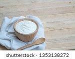 natural homemade plain organic...   Shutterstock . vector #1353138272