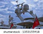 navigation equipment installed...   Shutterstock . vector #1353155918