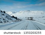 Snow Covered Road Thru North...