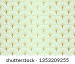 classic art deco seamless...   Shutterstock .eps vector #1353209255