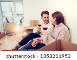 hold hand tight. loving husband ... | Shutterstock . vector #1353211952