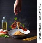 Flying Shrimp Aglio Olio Pasta...