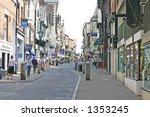 shoppers in chester | Shutterstock . vector #1353245