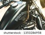 A Close Up Shot Of Harley...