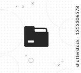 folder  vector best flat icon... | Shutterstock .eps vector #1353306578