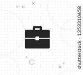 portfolio  briefcase  vector... | Shutterstock .eps vector #1353310658
