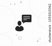 consulting  vector best flat... | Shutterstock .eps vector #1353315362