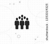 people groups  vector best flat ... | Shutterstock .eps vector #1353319325
