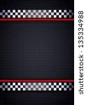 racing background  metallic... | Shutterstock .eps vector #135334988