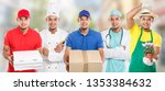 occupations occupation... | Shutterstock . vector #1353384632
