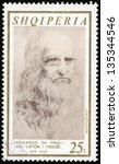 albania   circa 1969  post... | Shutterstock . vector #135344546
