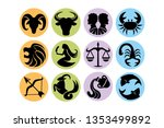 vector set of abstract...   Shutterstock .eps vector #1353499892