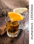 tequila gold and silver with... | Shutterstock . vector #135353666