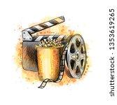 cinematograph concept banner...