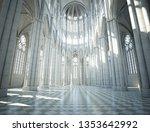 Quiet Church Interior