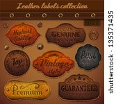 Leather Labels Collection  ...