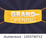 commercial grand opening | Shutterstock .eps vector #1353730712