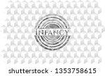 infancy grey emblem with...   Shutterstock .eps vector #1353758615